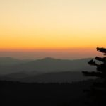 Tennessee Sunset Clingmans Dome