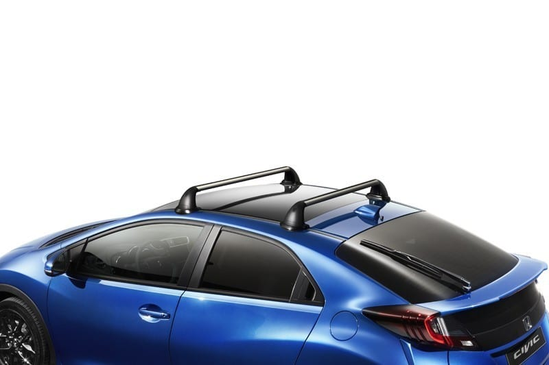 genuine honda civic 5 door roof rack glass roof 2012 2016