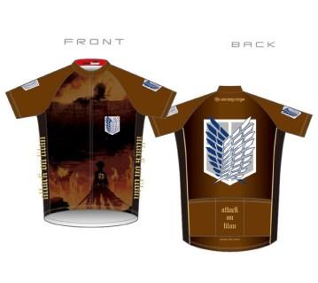 Maillot Attack on Titan