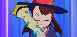 Little Witch Academia aura droit à son jeu video courant 2018