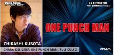 Chikashi KUBOTA, le chara designer de One Punch Man à Paris Manga