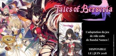 Le manga Tales of Berseria disponible dès le 7 juin