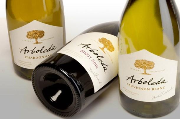 Vinhos Sauvignon Blanc, Chardonnay e Pinot Noir Arboleda | Cozinha do João
