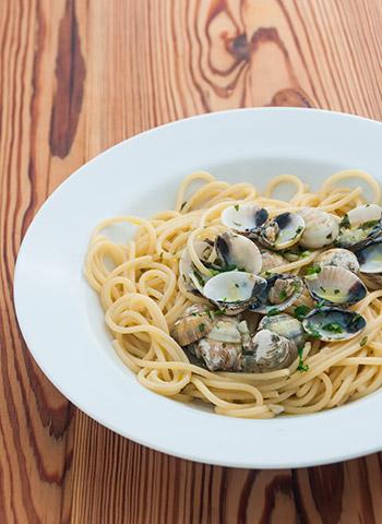 Receita Spaghetti ao vôngole | Cozinha do João