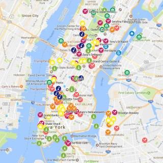 Google Maps de Nova York customizado | Cozinha do João