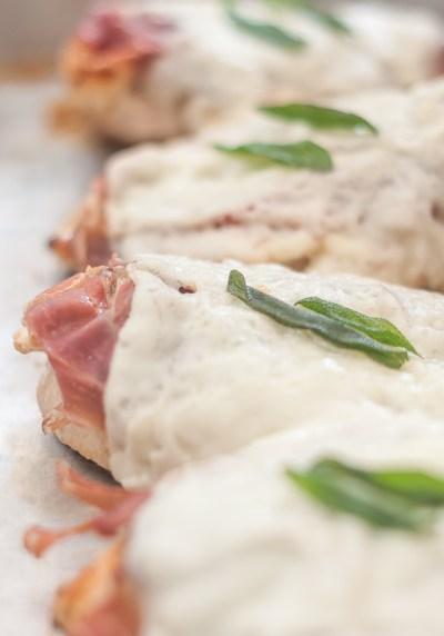 Receita de Saltimbocca de frango | Cozinha do João