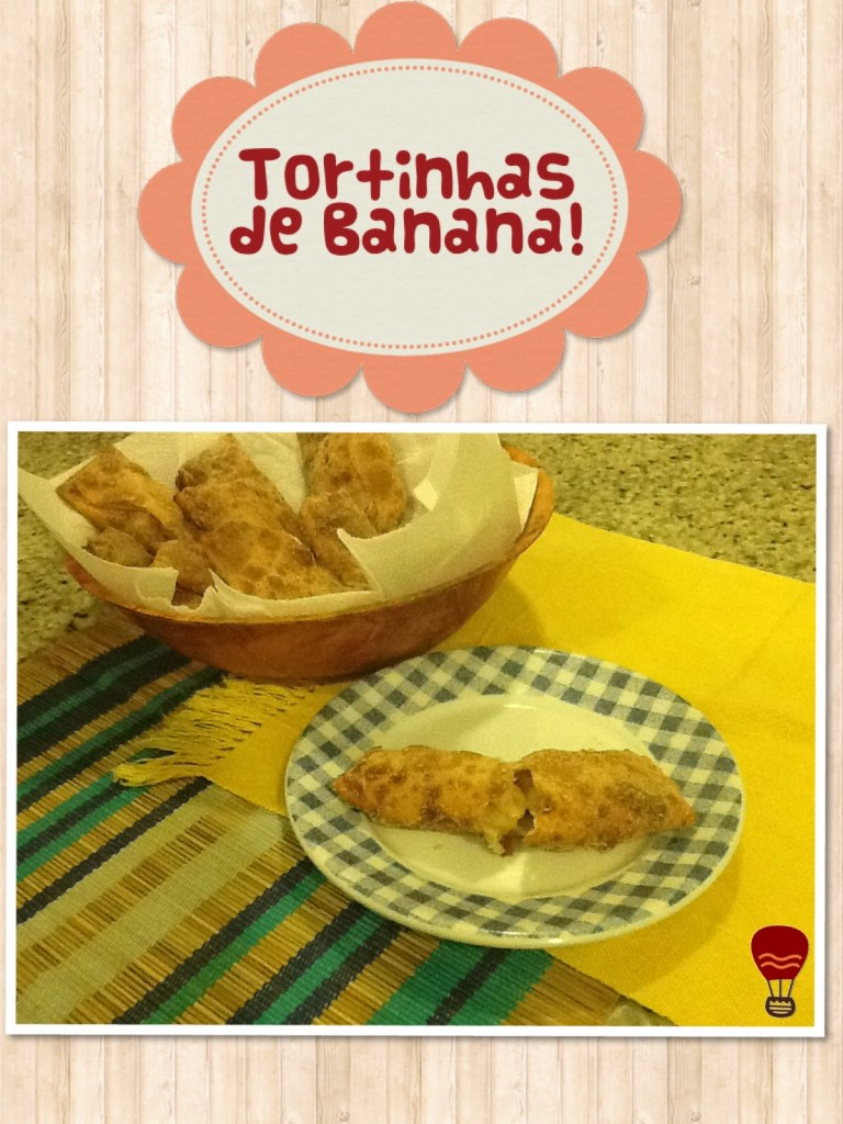 Tortinhas de banana