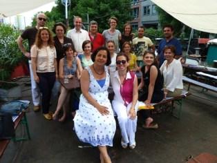 prima intalnire a partenerilor de proiect la Berlin, iunie 2015