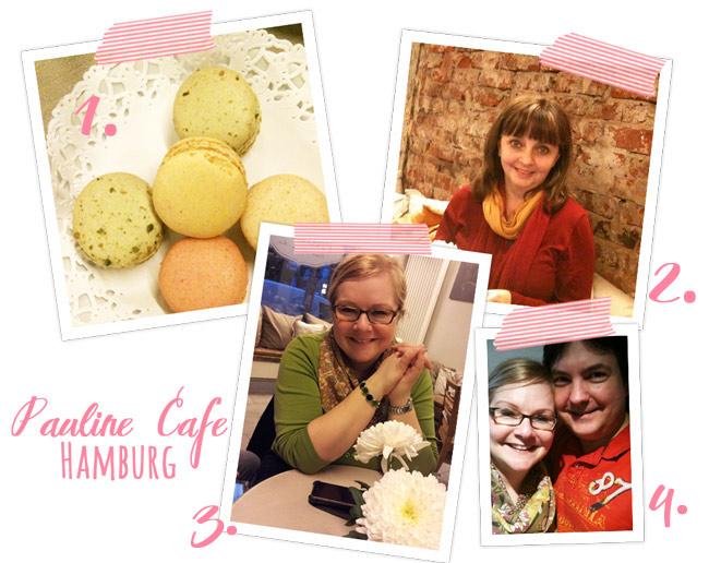 Macarons, Ich, Susanne, Mark und ich