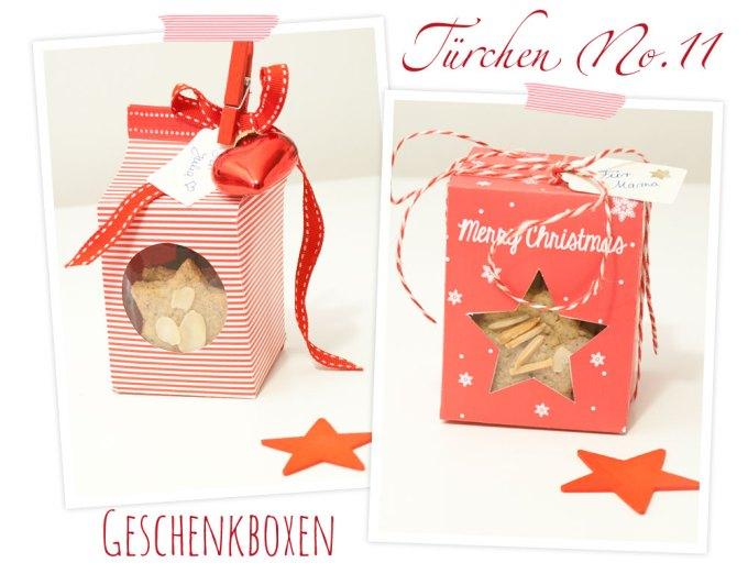 Wunderschöne Geschenkschachteln mit Freebie (Schachtel zum Ausdrucken)