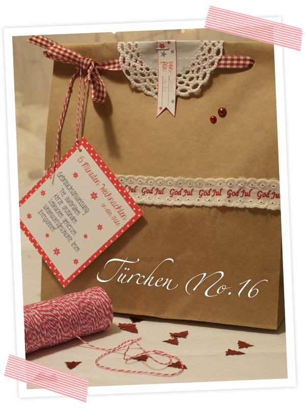Weihnachtsgefühl verschenken. Anleitung für einen Sternchenteebeutel. Instantweihnachten - Weihnachten in der Tüte verschenken. Anleitung