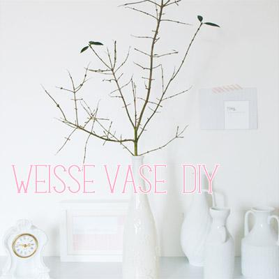 Große Vasen-Liebe / Big love for white vases
