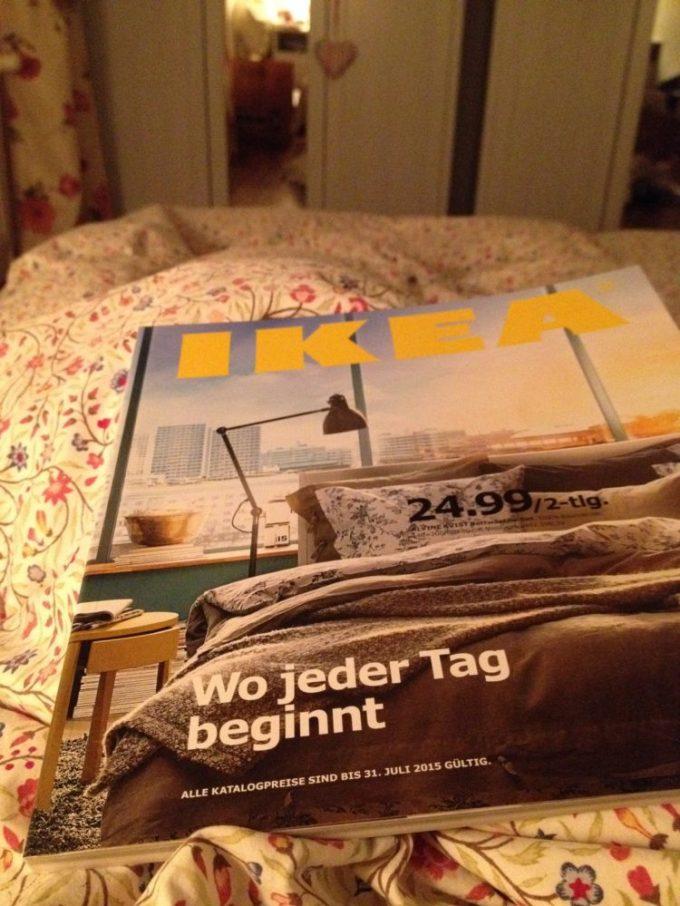 Frisch eingetroffen, der Ikea Katalog 2015