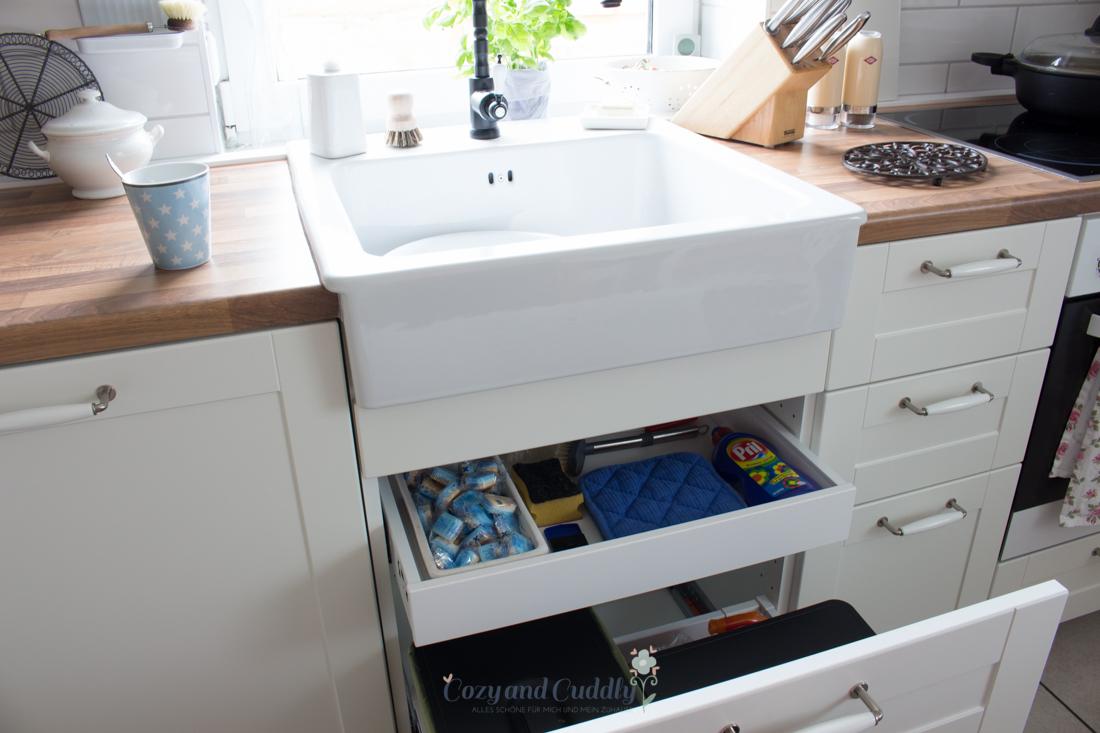 Die neue Ikea-Küche. Auf diesen Post habe ich mich ewig gefreut ...