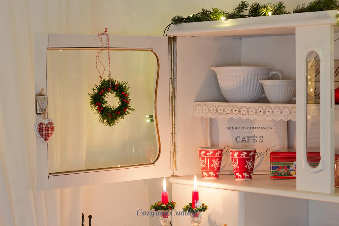 unsere weihnachtliche k che cozy and cuddly. Black Bedroom Furniture Sets. Home Design Ideas