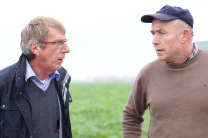 Dr. Volkmar Borsass und Winfried Strauß