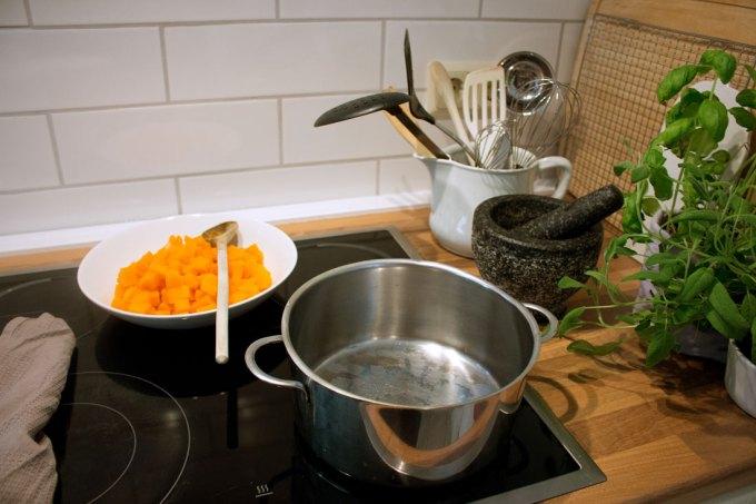 Leckere Selbstgemachte Kürbis-Ravioli (vegetarisch) // http://www.cozy-and-cuddly.de