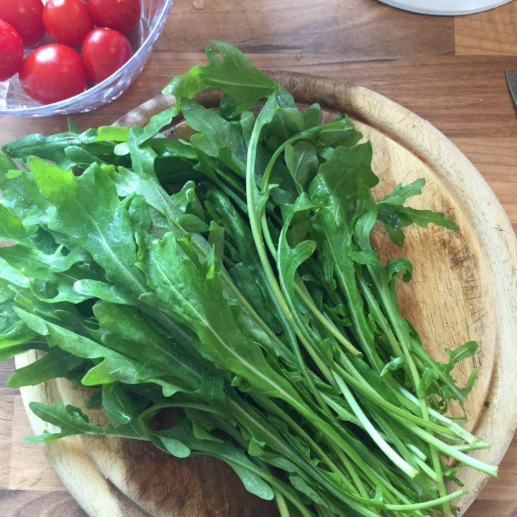 Und den passenden Salat...