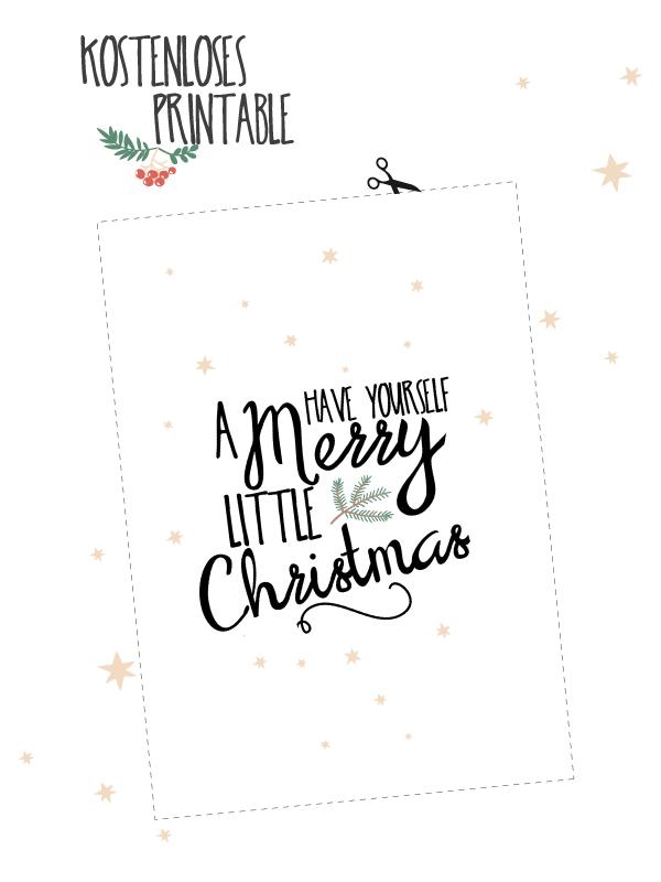 Printbale Merry Christmas