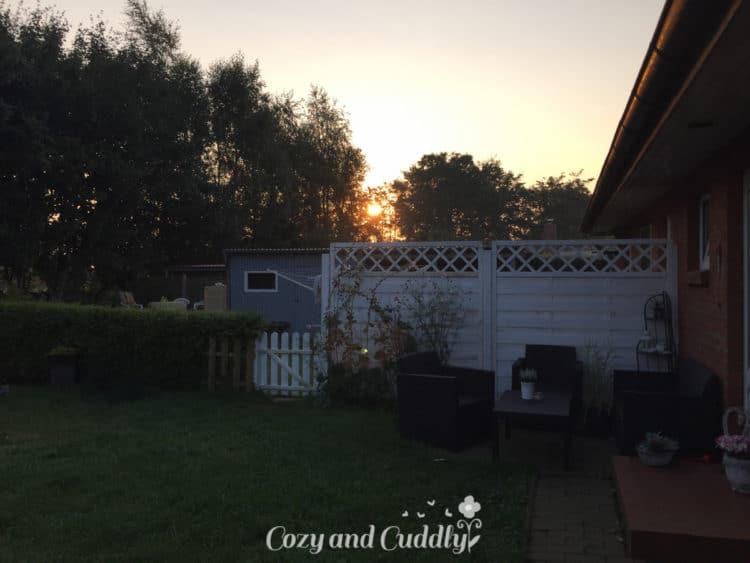 Dafür wurden wir von der wunderschönen Morgensonne begrüßt!