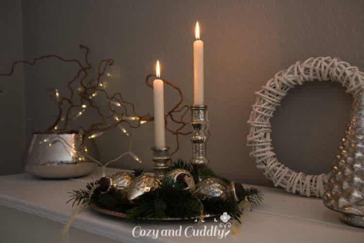 Bauernsilber Weihnachtsdeko.Weihnachtsdeko Mit Bauernsilber Und Ein Klavier Werbung Cozy And