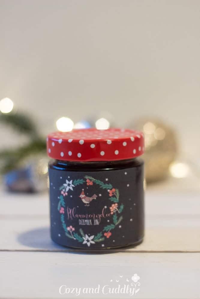 Advent: Rezept für Pflaumengelee mit Etiketten zum Ausdrucken, cozy & cuddly Adventskalender