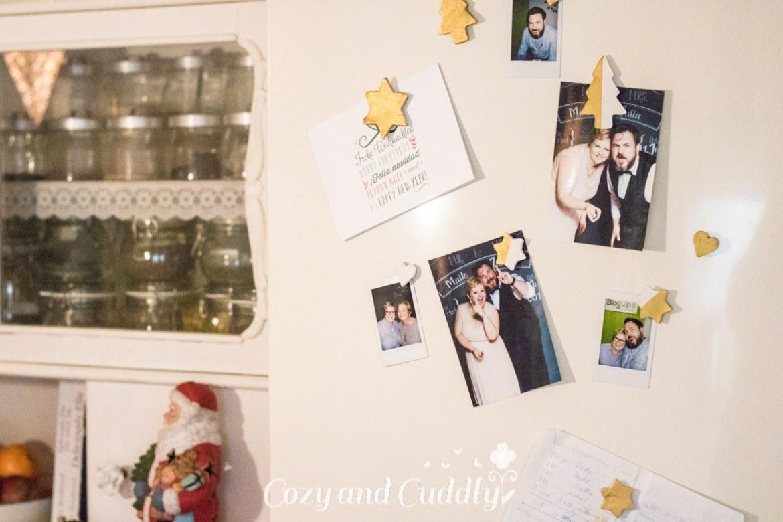 Advent: DIY Kühlschrankmagnete aus Fimo Air und Gold - cozy and cuddly Adventskalender