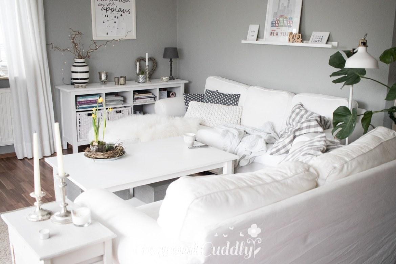 fernsehecke im shabby chic flatscreen passt perfekt in die einrichtung. Black Bedroom Furniture Sets. Home Design Ideas
