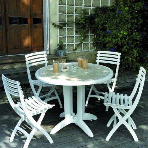 dangari resin folding outdoor restaurant chair