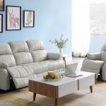 Faux Leather Reclining Sofa Set 2 Seater 3 Seater Recliner Sofa Set