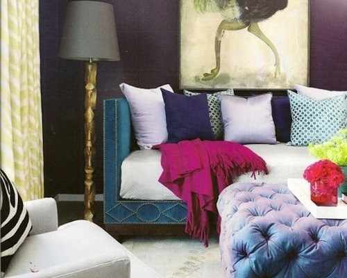 Create a Chic and Stylish Space with a Blue Velvet Sofa