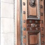 bronze door - Salt Lake City, Utah