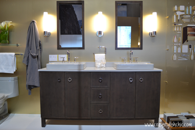 """KBIS 2014 Top Picks - """"Jacquard"""" from Kohler's Tailored Vanity Collection"""