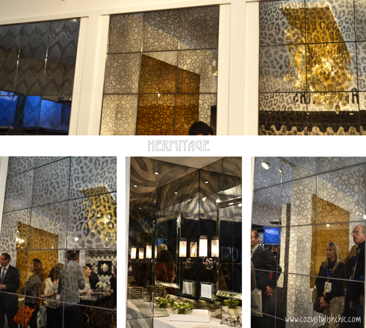 KBIS 2014 favorite finds - Martyn Lawrence Bullard's Hermitage collection for Ann Sacks of mirrored tile via www.cozystylishchic.com