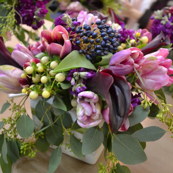 Flower arranging class with Tess Casey