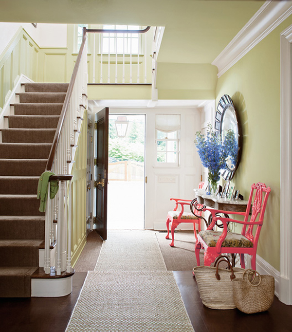 Charleston Townhouse- Benjamin Moore Color Trends 2014