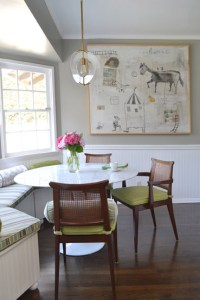 Breakfast room by Pasadena interior designer Jeanne Chung