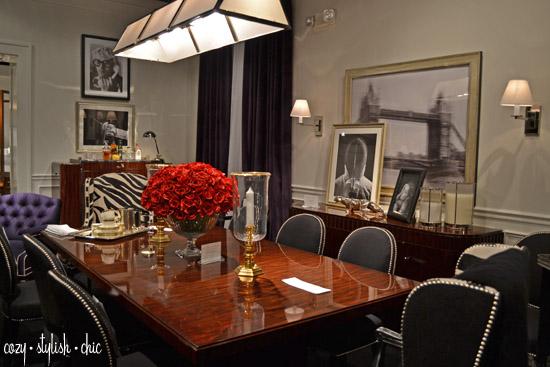 Ralph Lauren Home -sophisticated man room