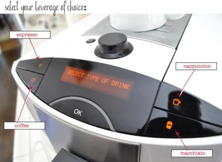 Miele CM5200 espresso machine