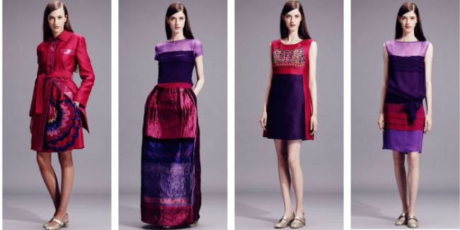 Alberta-Ferretti-red and purple--Resort-2015