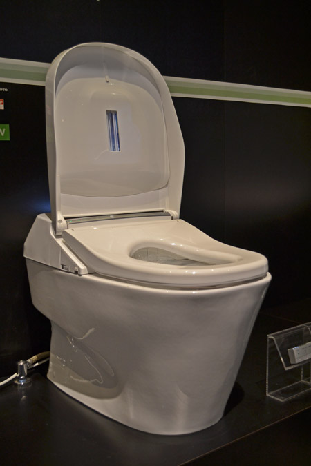 Toto Neorest 700H for the touch-free, germ-free bathroom