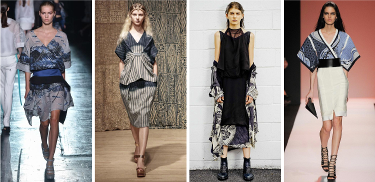 NYFW SS2015 Trends - Japanese textiles