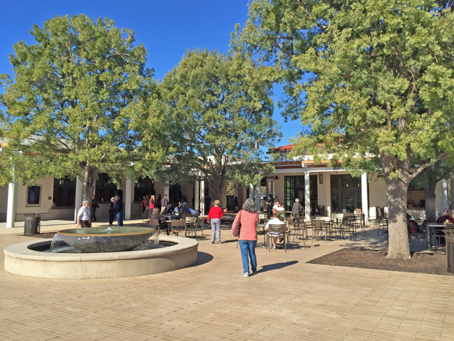 The Family Courtyard at The Huntington
