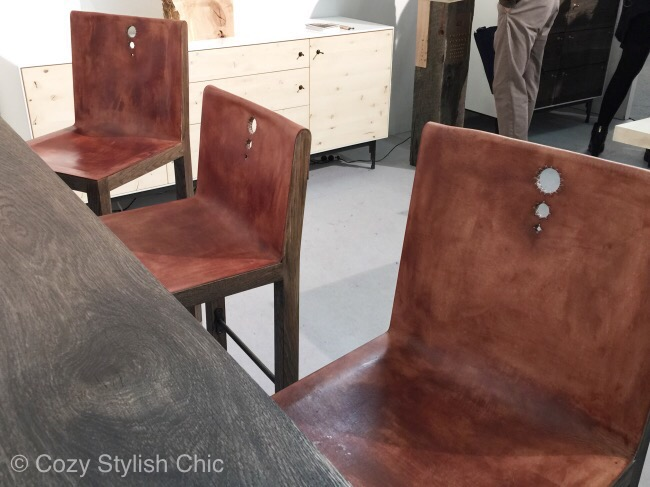 PaloSamko - The Architectural Digest Home Design Show - vegetable tanned leather trend AD Show 2015 #ADHDS