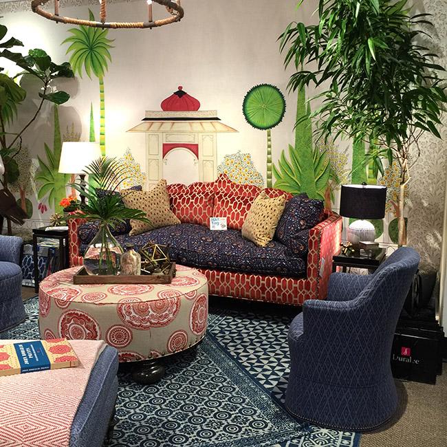 High Point Spring 2016 Interior Design Trends via Cozy•Stylish•Chic
