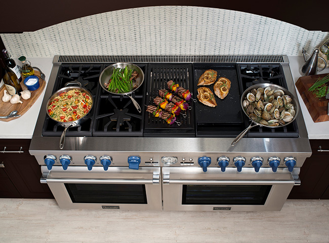 Thermador 60-Inch Range Professional Grill