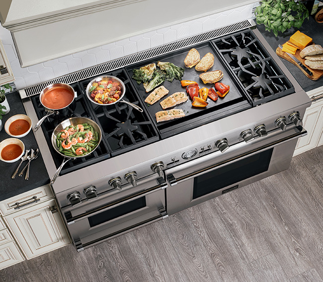 Thermador 60-Inch Range With Griddle