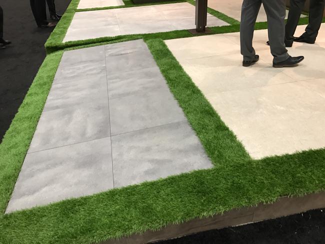 Coverings 2017 - indoor/outdoor tile trend