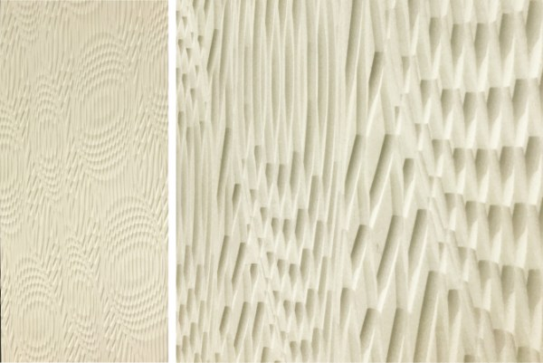 Corian-3D design wall trend at Dwell on Design 2017
