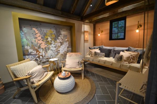 2017 Pasadena Showcase House via Cozy • Stylish • Chic